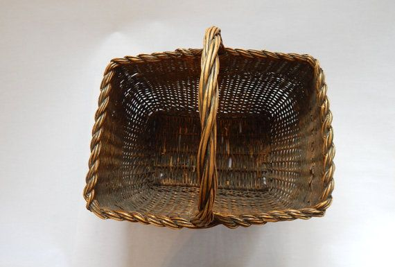 Handmade Market Baskets : Vintage french handmade market basket awesome baskets