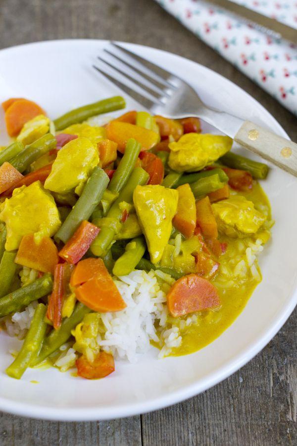 Recept om zelf Kip Madras te maken | via BrendaKookt.nl