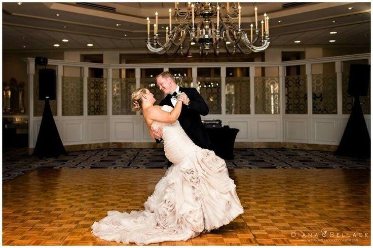 Diana Bellack Photography, Virginia Wedding Photographer, Chantilly VA wedding photographer, rose gold wedding, Westfields Marriott, pastel pink bouquet, rose gold wedding dress, classic wedding couple, Fall wedding, wedding details, first dance
