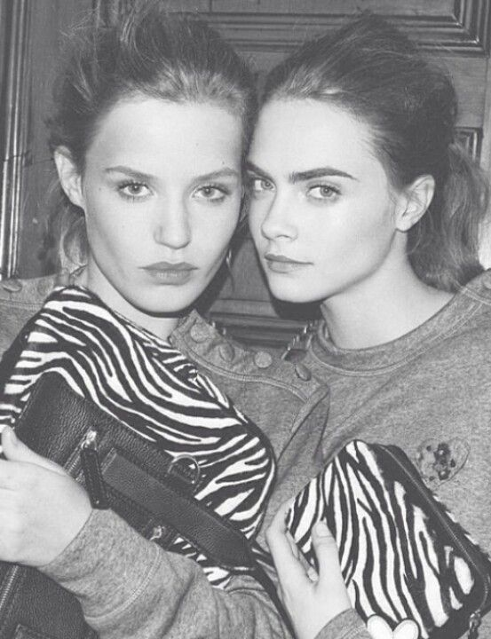 Cara and Georgia May Jagger