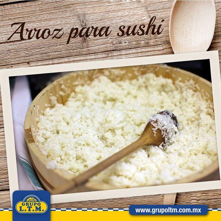 Te mostramos como preparar el arroz para hacer sushi. Haz click en la imagen para ver la receta completa.