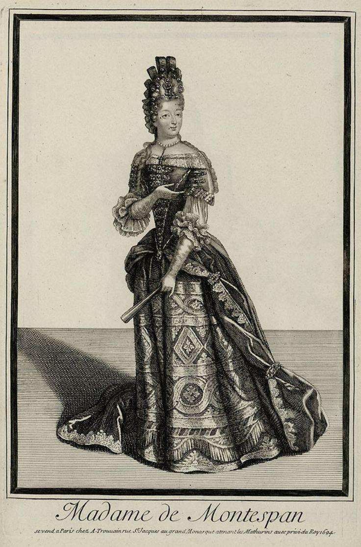 Drawing Of Madame De Montespan