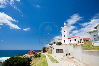 Mosselbay lighthouse South Africa