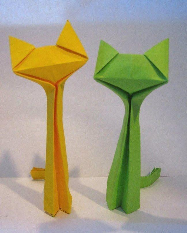 gato - tiras de papel criação: ??                                                                                                                                                                                 Más