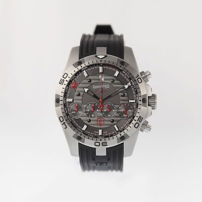 Eberhard & Co.,Chrono 4 Geant Titan Ltd., photographed by Pamela Ossola, offered by Georg Königbauer - Watches For Life