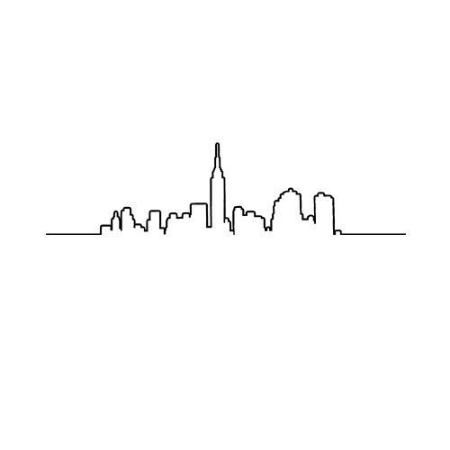 Line Drawing Tattoo London : Best new york skyline ideas on pinterest