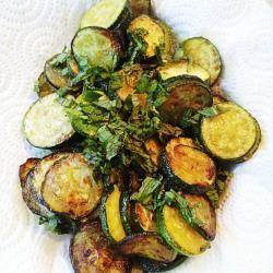 Zucchine trifolate al profumo di menta @ allrecipes.it