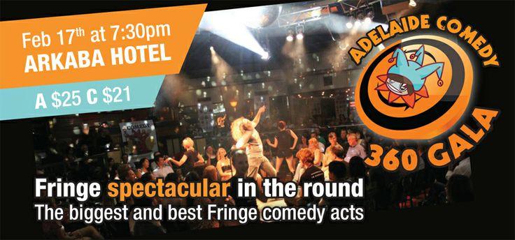 Adelaide Comedy Fringe Spectacular, Feb 17th @ the Arkaba #adlfringe #adelaide #southaustralia