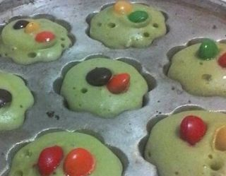RESEP KUE CUBIT GREEN TEA