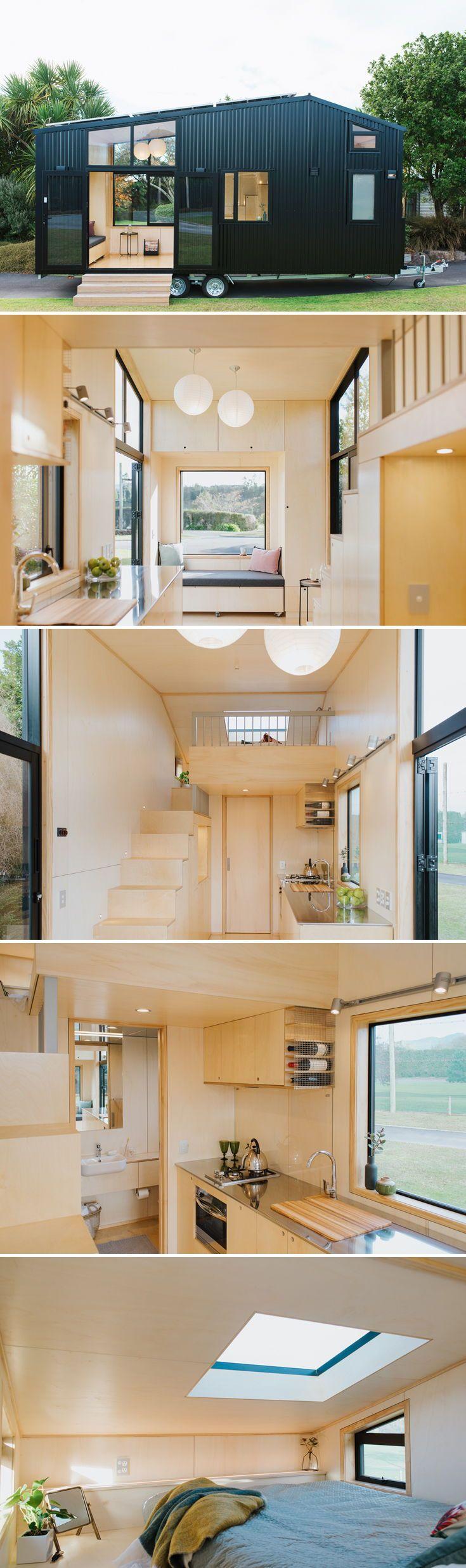 Das First Light Tiny House ist ein von First Light Studio entworfenes …   – •• CABIN ••