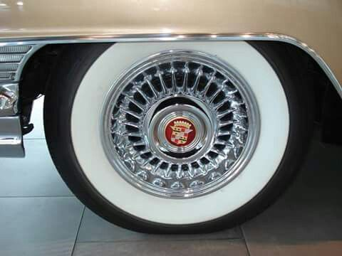 cadillac stock spoke on gangster white wall