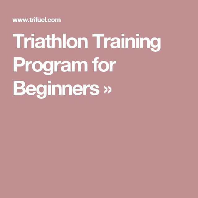 Strength Training For Triathletes: 1000+ Ideas About Training Programs On Pinterest
