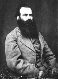 Major General James L Kemper, CSA. Kemper was a politician who joined the Confederacy, working his way through the ranks.  Most known for leading one of Pickett's brigades at Gettysburg.  After the war, served as Governor of VA.