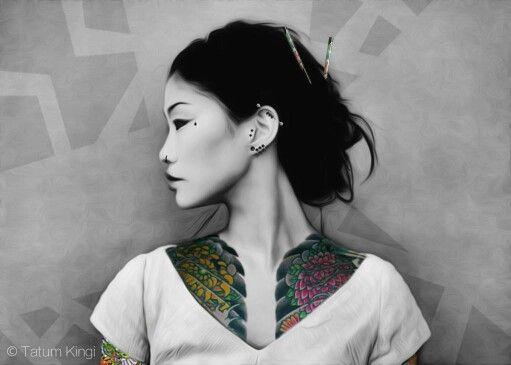 My Japanese Yakuza girl Done!!