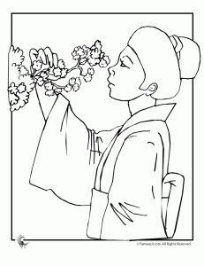 daruma doll coloring pages - photo#37