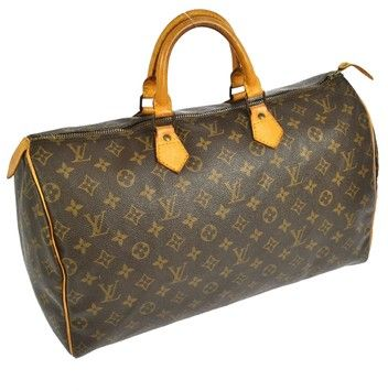 Louis Vuitton Speedy 40 Brown Satchel. Save 69% on the Louis Vuitton Speedy 40 Brown Satchel! This satchel is a top 10 member favorite on Tradesy. See how much you can save