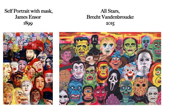 Feels Familiar? James Ensor VS Brecht Vandenbroucke