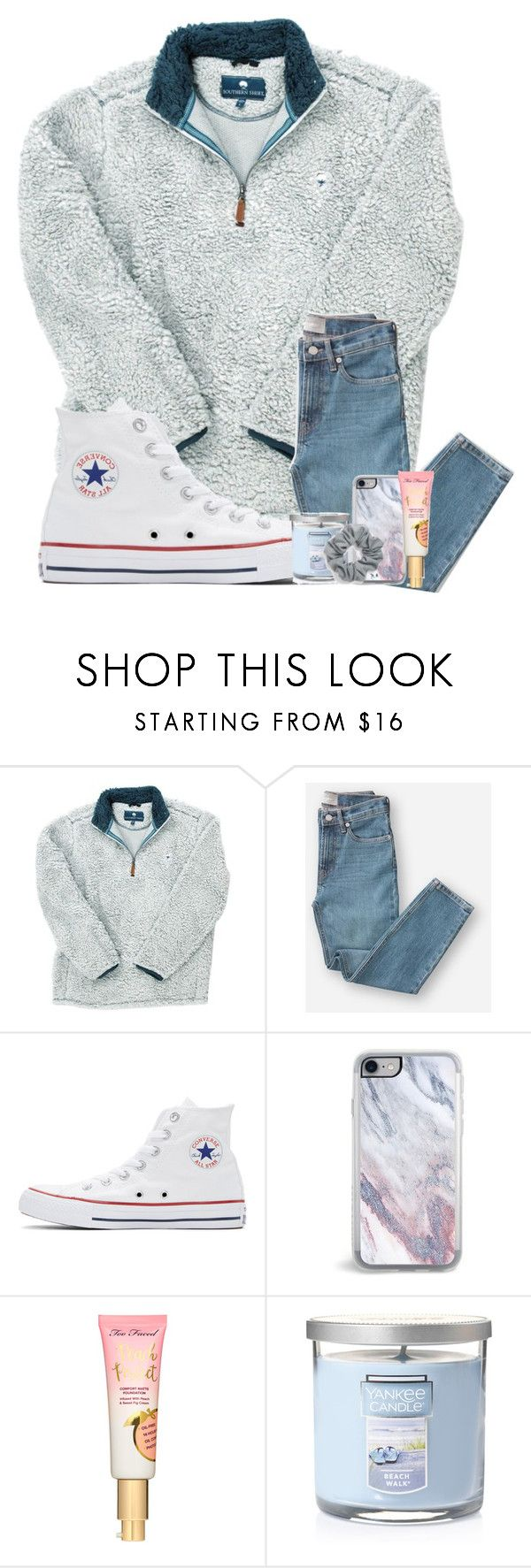 """Untitled #1"" by preppypuffpuff on Polyvore featuring Everlane, Converse, Zero Gravity, Yankee Candle and Natasha"