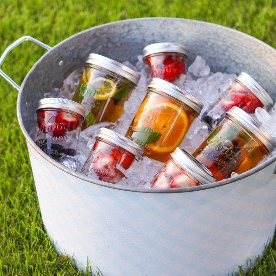 Summertime Sun Tea. When sodas just aren't good enough anymore!