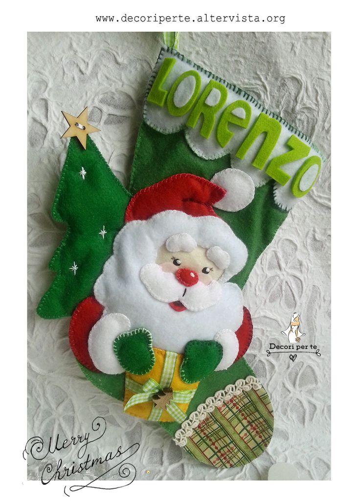 calze di natale calze befana christmas socks