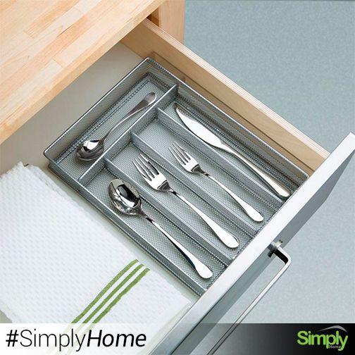 Organizador de cubiertos Tray $39.000  Mantenga sus cubiertos organizados y al alcance de su mano. #SimplyHome #SimplyHomeCol #OnlineShop #Simply #Home