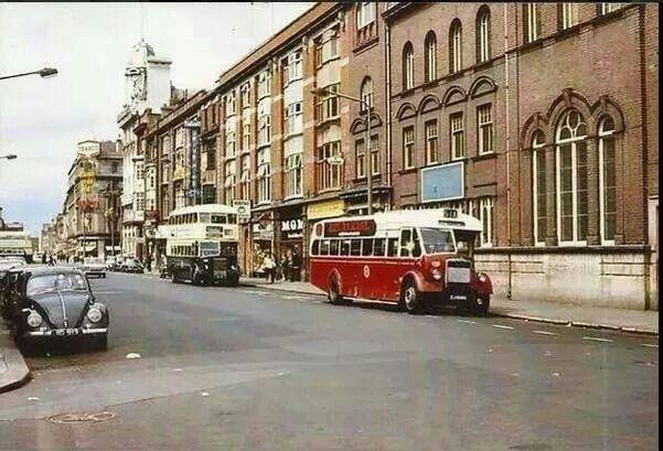 Abbey Street, Dublin 1970.