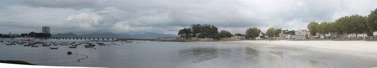 Isla de Toralla, vista desde Canido
