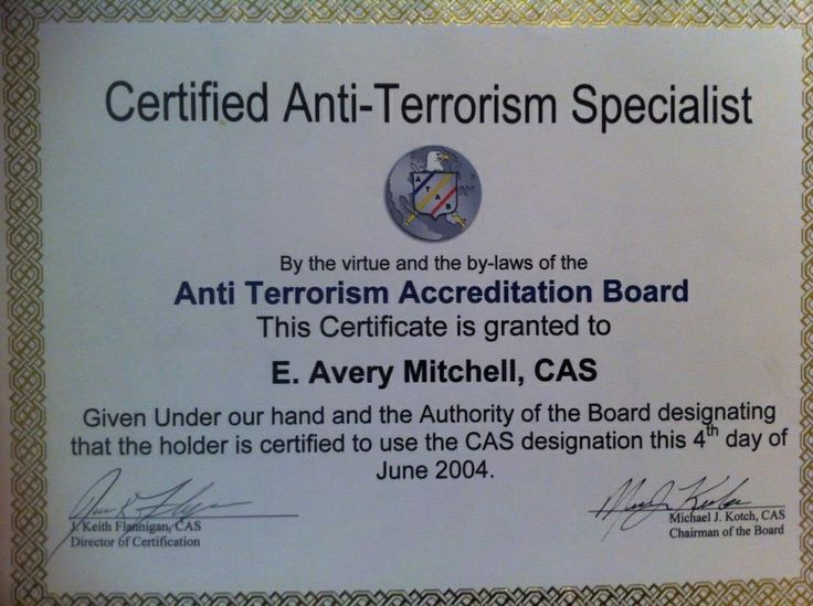 9 best Certifications Training images on Pinterest Train, Trains - anti terrorism officer sample resume