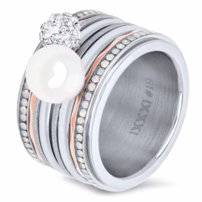 #ixxxi #white #opal #pearl #sparkle https://m.facebook.com/Damice-Hair-Nails-612511548847268/