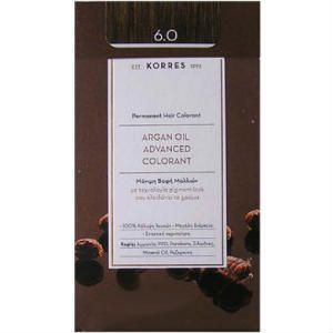 Korres Argan Oil 6.0 Μόνιμη Βαφή Ξανθό Σκούρο 50ml