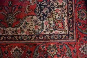 Interiors - Provenance Auction House: A Tabriz Carpet.