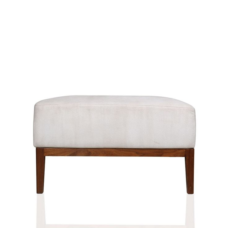 Smith Enjo-99 Stool - A classic piece of decor for those who cherish the charisma of minimal. This simple yet elegant white smith chair and stool is designed to make your home a minimalistic chic. This wood craft stool with comfy white cushion bed is a great arrangement for your hallway to cherish your love for reading.#INVHome #LuxuryHomeDecor #InteriorDesign #RoomDecor #Decorations #Decor #INVHomeLinen #Tableware #Spa #Gifts #Furniture #LuxuryHomes #Furniture #Stools