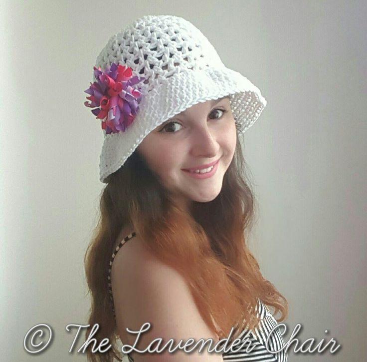 Free pattern Valerie's Summer Sun Hat Crochet Pattern
