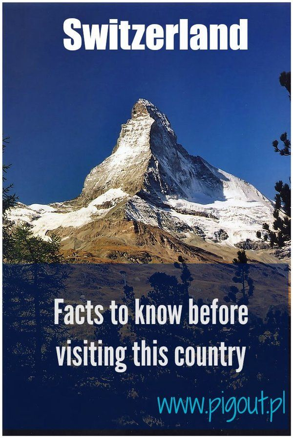 If you are going to visit Switzerland, you definitely need to read this before packing your suitcases.