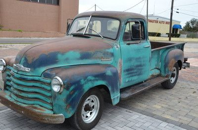 Chevrolet : Other Pickups FLATBED 1953 CHEVY 3600 - http://www.legendaryfinds.com/chevrolet-other-pickups-flatbed-1953-chevy-3600/
