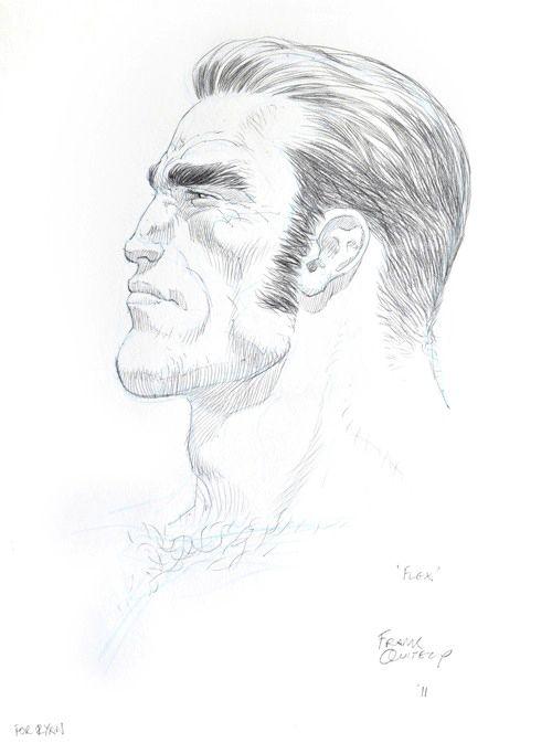 Pencil sketches - Flex Mentallo ( http://fuckyeahfrankquitely.tumblr.com/ )