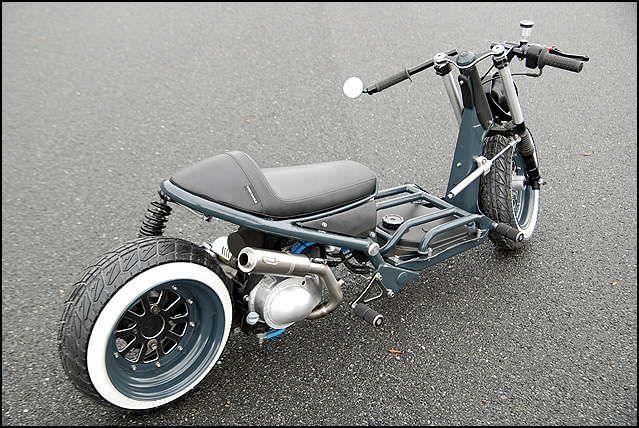 I would totaly ride this Honda Ruckus Cafe Risque..