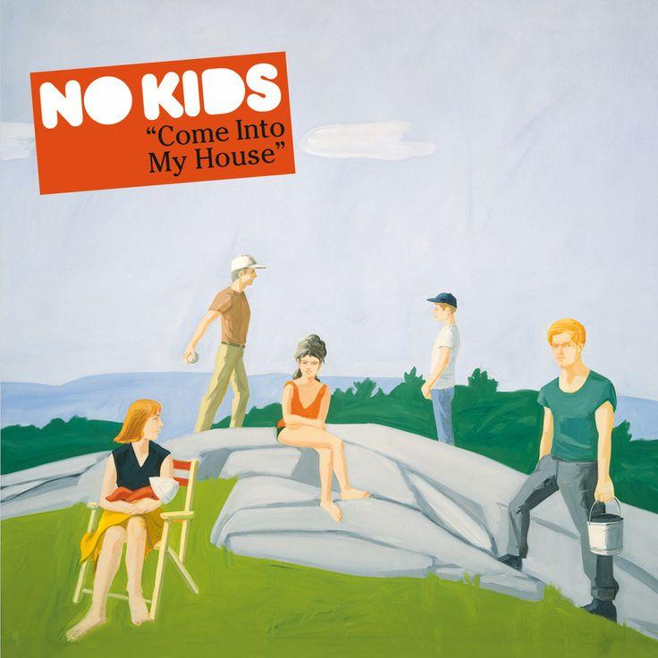 """2008 No Kids - Come Into My House [Tomlab tom108cd] original artwork: Alex Katz """"Ives Field 1"""" (1964) #albumcover"""