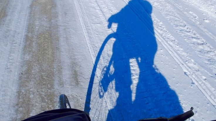 eCube in The Manitoba February Sunshine