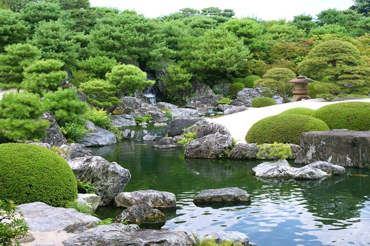 Garden of the Adachi Museum of Art 足立美術館 @ Yasugi Shimane Prefecture Japan