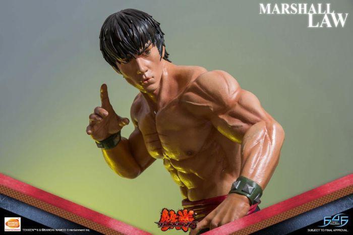 Tekken 6 Marshall Law Statue