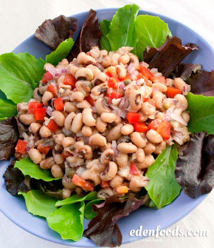 zesty black eyed pea salad  recipe  pea salad black