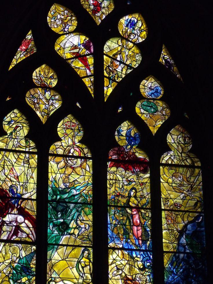 Cathédrale de METZ (Moselle - Vitrail de Chagall
