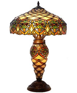 @Overstock - Instantly update your home decor with this Tiffany-style lamp  Table lamp highlighted by 100 cabochons  Design in hues of yellow, orange and greenhttp://www.overstock.com/Home-Garden/Tiffany-style-Arielle-Lamp/2041139/product.html?CID=214117 $177.99