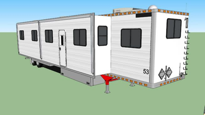 Large Preview Of 3d Model Of 2010 Great Dane 53 Ex Reefer Semi