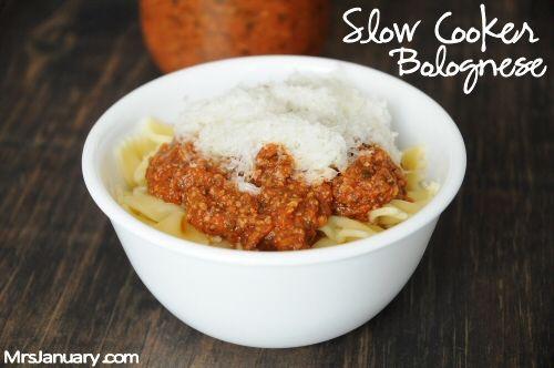 Slow Cooker Bolognese | i