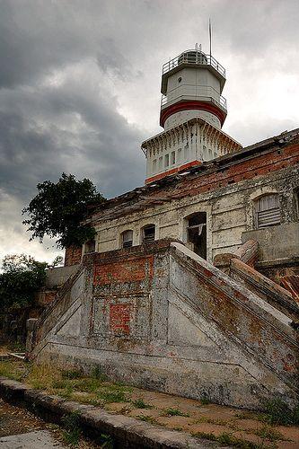Capones lighthouse [1890 - Capones Island, Central Luzon, Luzon, Philippines]