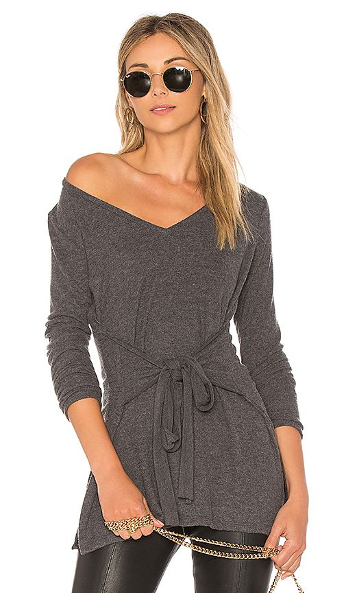 dca0bb6e59f Shop for LA Made Elliot Tunic Top in Charcoal at REVOLVE. Free 2-3 day  shipping and returns, 30 day price match guarantee.