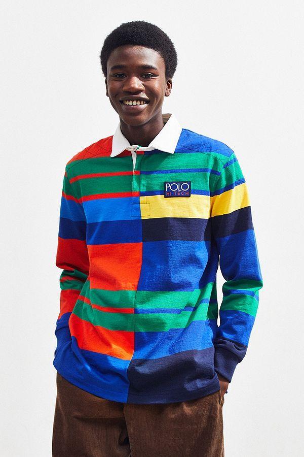 d922ba75 Polo Ralph Lauren Hi-Tech Rugby Shirt | icer brand vibe | Polo ralph ...