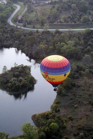 West Michigan balloon ride - bet there are some awesome sights to see